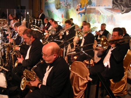 The Richard Brown Orchestra Sax Section