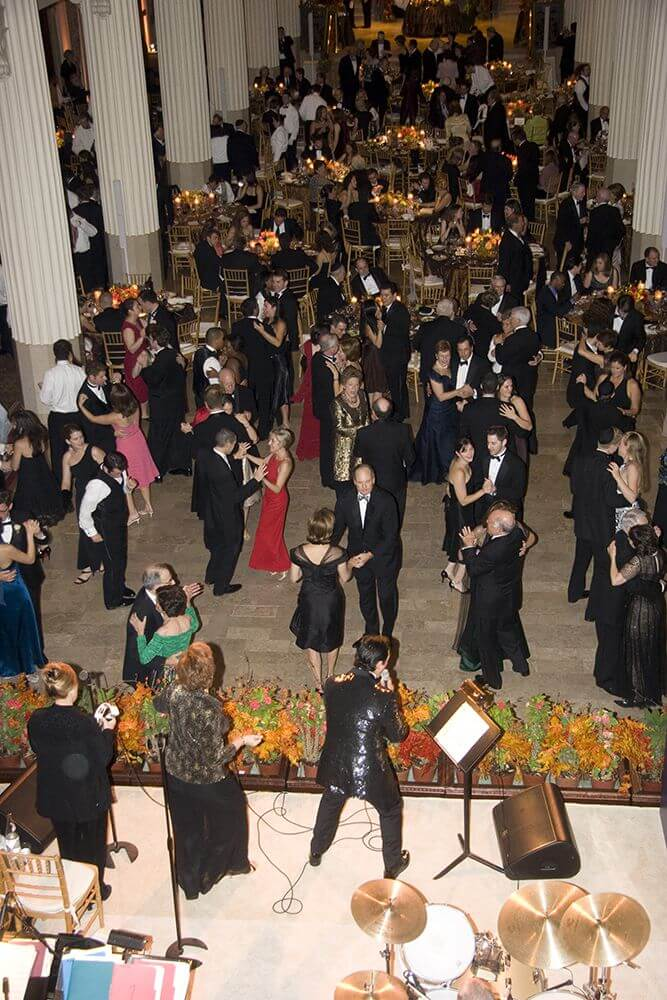 Full Dance floor for Wedding at the Corinthian