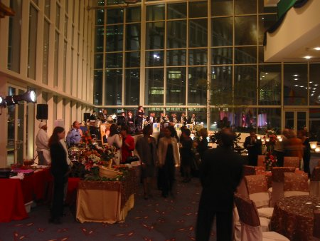 The Social Book Party at the Hobby Center January 2004
